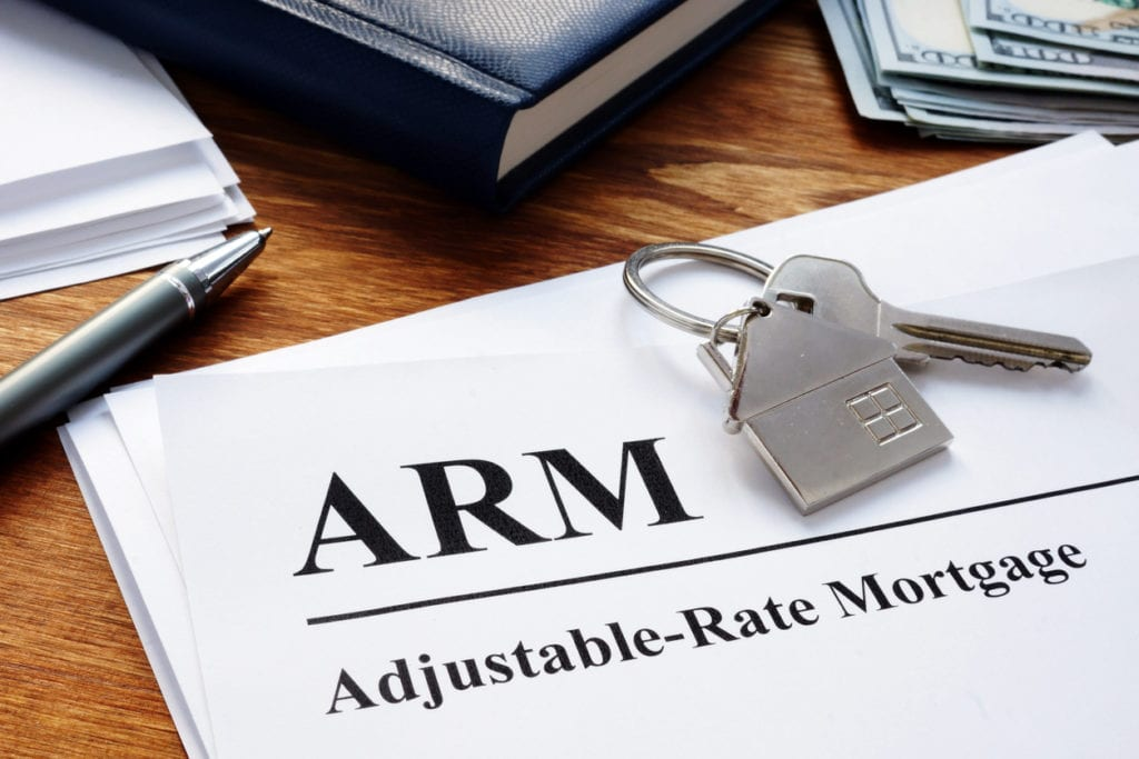 adjustable rate mortgage