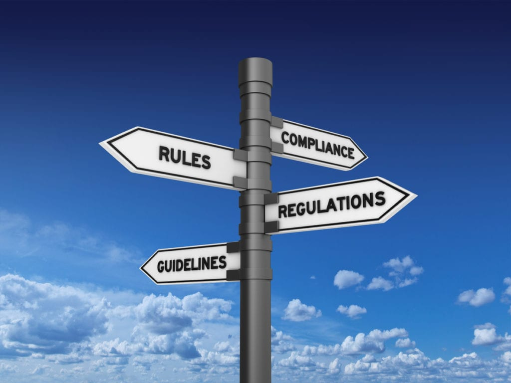 compliance rules signposts